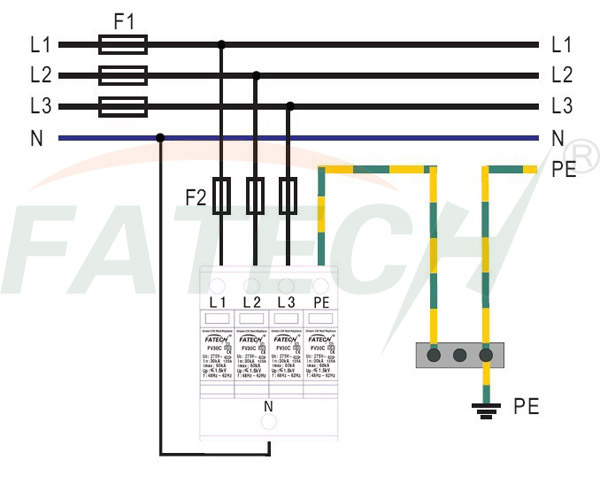 3 phase indicator light  3  free engine image for user Surge Protector Phonics Contact surge protection device wiring diagram