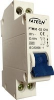 1p+n miniaturer circuit breakers, dpn MCB 2 poles