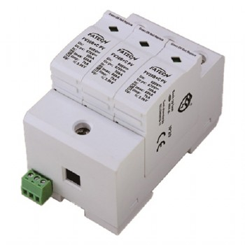 600Vdc type 1 2 surge protective device for photovoltaic system
