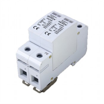 Narrow size 40kA surge arrester 3 phase